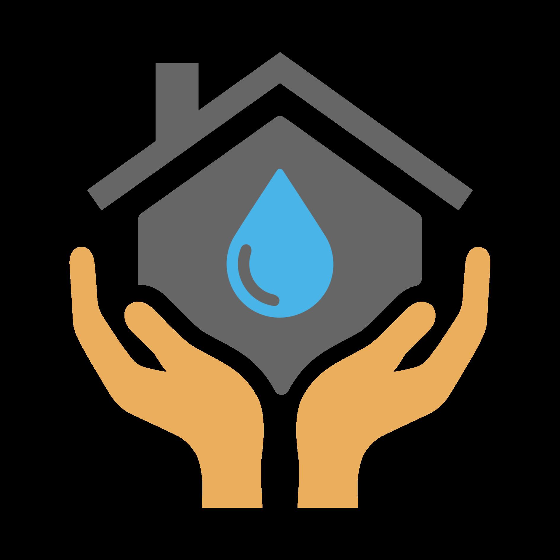 颱風豪雨飲水安全三步驟示意圖