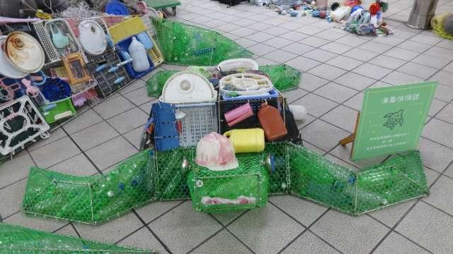 107-05-23 西門捷運站「無塑小琉球綠蠵龜悠游布展」活動示意圖